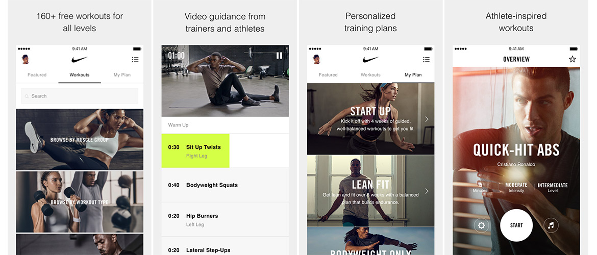 Chip pereza Operación posible  Why I love the Nike Training Club app | Spinning & Yoga